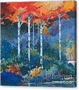 Big Meadows Lake Canvas Print