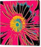 Big Pop Floral Canvas Print