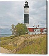 Big Sable Lighthouse Canvas Print
