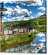 Big Sky Ski Resort II Canvas Print