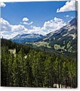 Big Sky Ski Trails Canvas Print