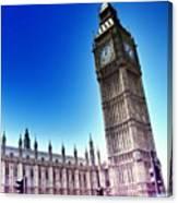#bigben #uk #england #london2012 Canvas Print