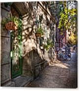 Bike - Ny - Greenwich Village - The Green District Canvas Print
