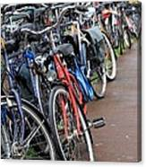 Bike Frenzy Canvas Print
