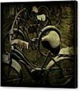 Bike Graveyard Canvas Print