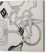 Bike Mania Canvas Print