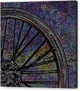 Bike Wheel 2 Canvas Print
