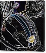 Biker Beanie Canvas Print