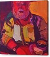 Bill No.1 - Big Red Bill Canvas Print