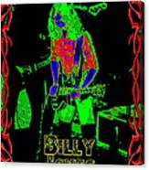 Billy Gets Psychedelic Canvas Print