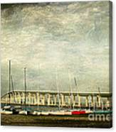 Biloxi Bay Bridge Canvas Print