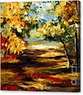 Birch Forest 4 Canvas Print