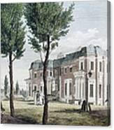 Birch: Philadelphia, 1800 Canvas Print