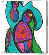 Birdfish Watch Canvas Print