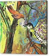 Birds 03 Canvas Print