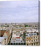 Panoramic Paris Canvas Print