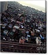 Birds Eye View Of The Pasay City Canvas Print