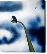 birds of apocalypse III 1 Canvas Print