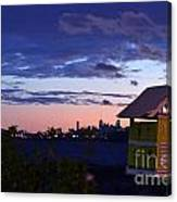 Birds View From Penthouse  Canvas Print