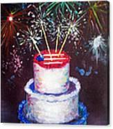 Birthday In America Canvas Print