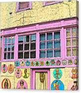 Colorful Building Bisbee Az Canvas Print