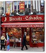 Biscuits And Calvados Canvas Print