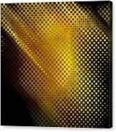 Black And Yellow Abstract II Canvas Print