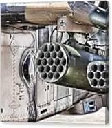 Black Hawk Firepower Canvas Print