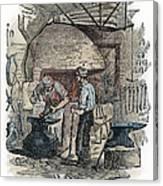 Blacksmith, C1865 Canvas Print