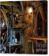 Blacksmith Workshop Canvas Print