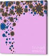 Blades On Purple Canvas Print