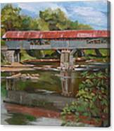 Blair Bridge Campton New Hampshire Canvas Print