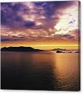 Blasket Islands, Dingle Peninsula, Co Canvas Print
