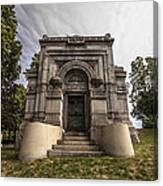 Blatz Family Mausoleum Canvas Print