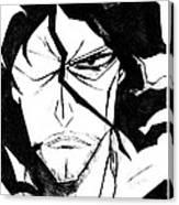 Bleach Zangetsu Canvas Print