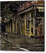 Bleeker Street Seven Am Canvas Print
