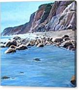 Block Island Surf Canvas Print