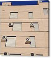 Block Of Flats, Spain Canvas Print