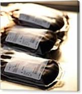 Blood Bags Canvas Print