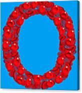 Blood Group O Canvas Print