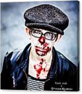 Bloody Youth Canvas Print