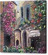 Blooming Alley Canvas Print