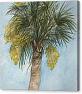 Blooming Palm Canvas Print
