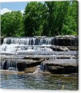 Blossom Road Waterfalls 5123 Canvas Print
