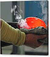 Blowing Glass IIi Canvas Print
