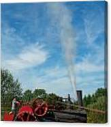 Blowing Off A Little Steam Canvas Print