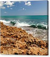 Blowing Rocks Jupiter Island Florida Canvas Print