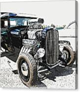 Blown Coupe Canvas Print