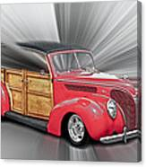 Blown Woody Canvas Print