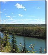 Blue Autumn Waters Canvas Print